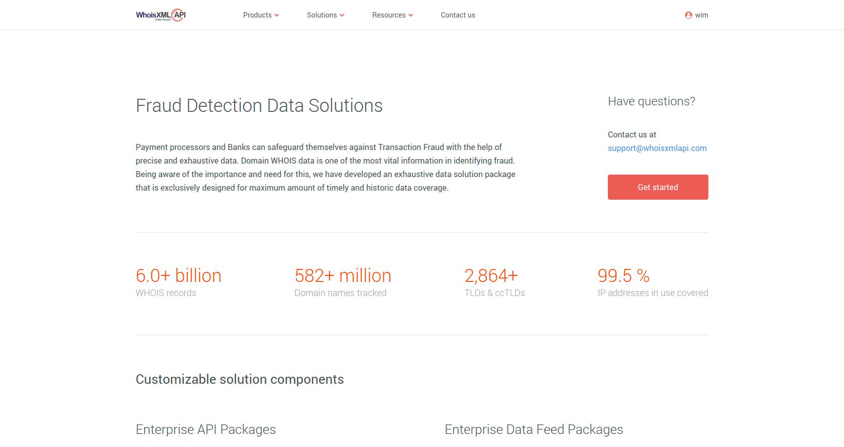 Fraud Detection Data Solutions | WhoisXML API