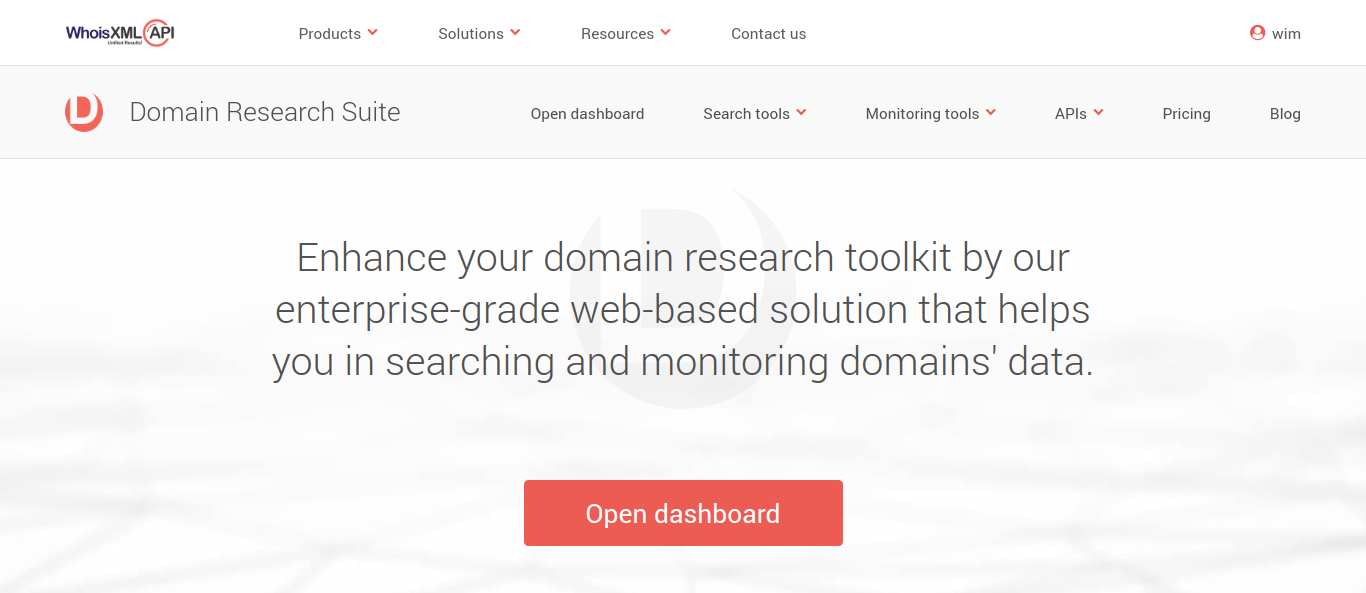 Using the Domain Research Suite to Investigate