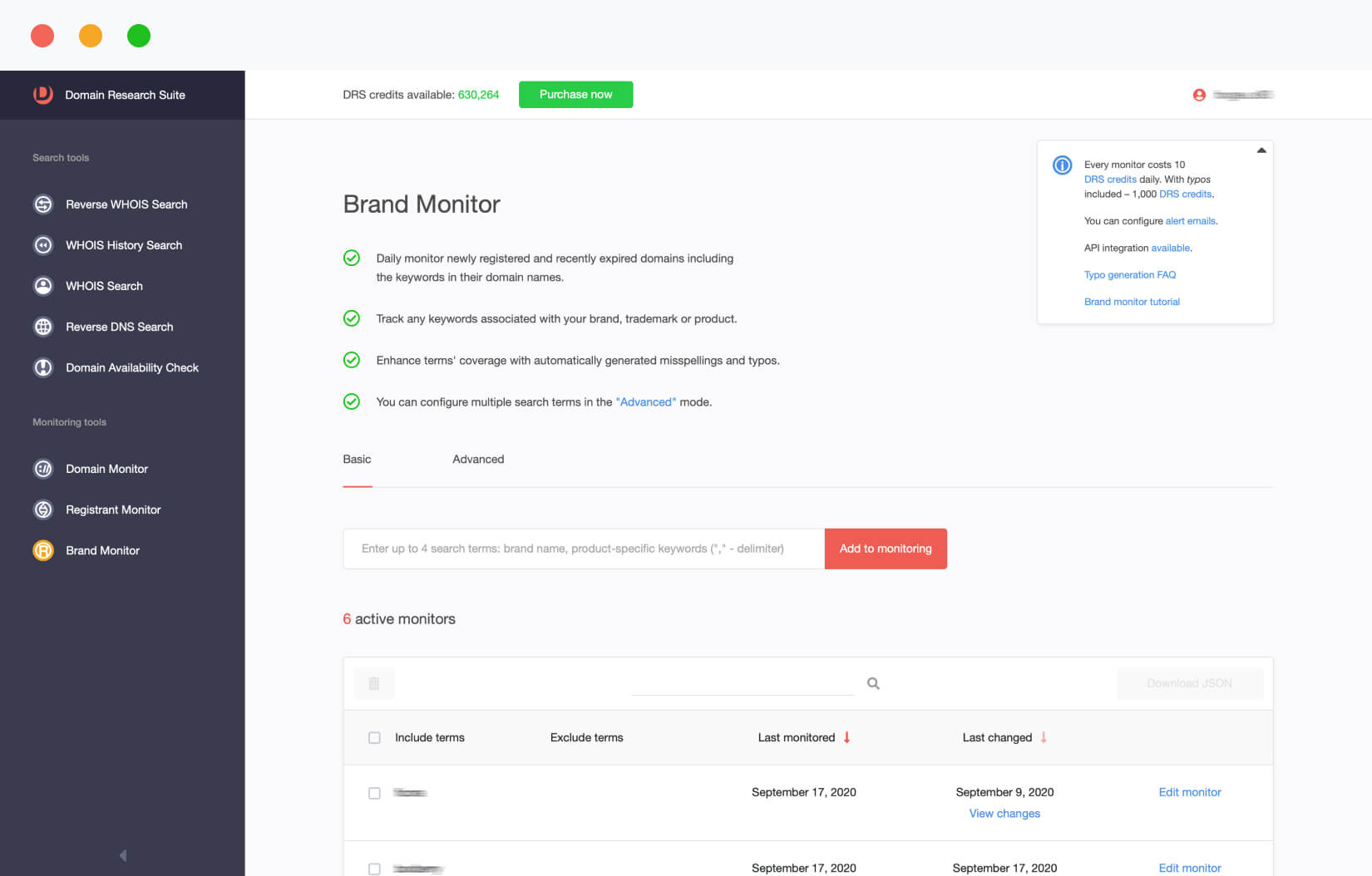 Brand Monitor