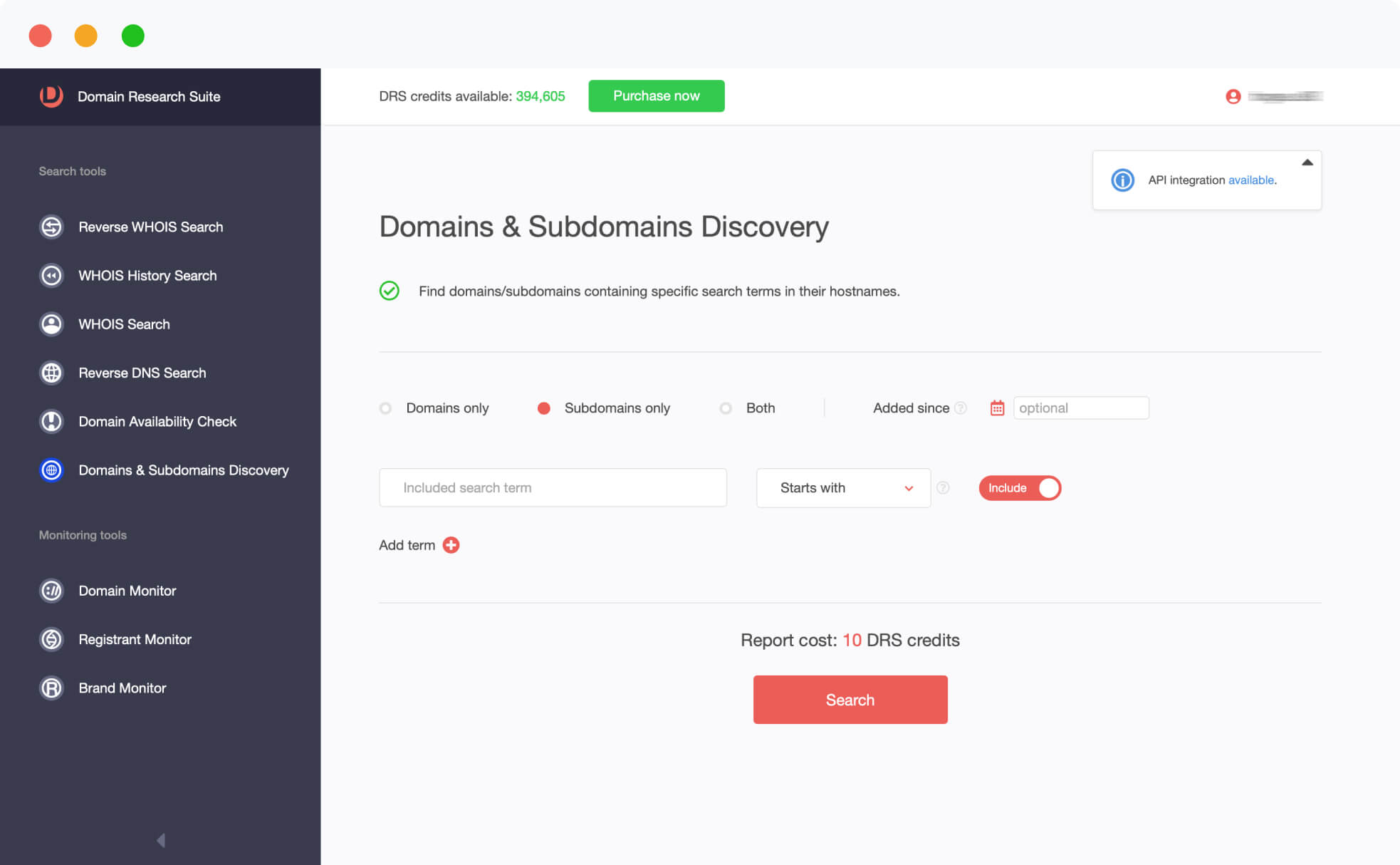 Domains & Subdomains Discovery